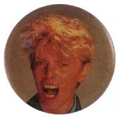 David Bowie - 'David Ahhhh' Button Badge